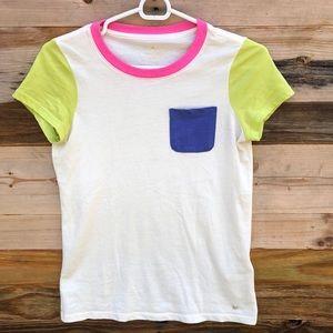 Kate Spade   Neon Color Block Tee size XXS